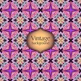 Abstract geometrisch retro naadloos patroon Het kan voor prestaties van het ontwerpwerk noodzakelijk zijn Stock Foto