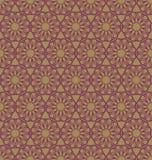 Abstract geometrisch spirographpatroon Royalty-vrije Illustratie