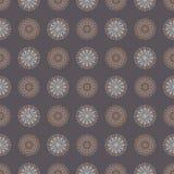 Abstract geometrisch spirographpatroon Stock Illustratie