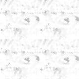 Abstract geometrisch vormenpatroon Grijs en wit die achtergrond herhalen Stock Foto