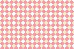 Abstract geometrisch vormpatroon met roze pastelkleurkleur Royalty-vrije Stock Foto's