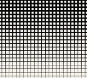 Abstract geometrisch zwart-wit gradiënt vierkant halftone patroon Royalty-vrije Stock Afbeeldingen