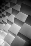 Abstract Geometry. Cubes form a beautiful illusion Royalty Free Stock Photography