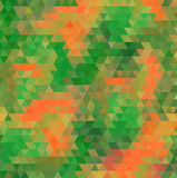 Abstract geometry background. Abstract dark geometric background in fall colors Stock Images