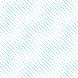 Abstract geometry blue deco art halftone chevron pattern Royalty Free Stock Image