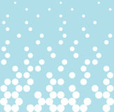 Abstract geometry blue fashion halftone dots pattern Royalty Free Stock Image