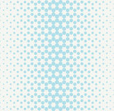 Abstract geometry blue fashion halftone dots pattern Stock Image