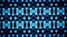 Abstract Geometry blue wallpaper. Royalty Free Stock Photo