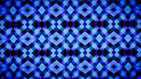 Abstract Geometry blue wallpaper. Royalty Free Stock Photos