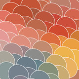 Abstract geometry circle backdrop Royalty Free Stock Image