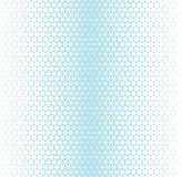 Abstract geometry hipster fashion blue pillow halftone triangle pattern Royalty Free Stock Photo