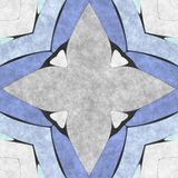 Abstract geometry- mosaic illustration Royalty Free Stock Images