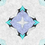 Abstract geometry- mosaic illustration Royalty Free Stock Photography