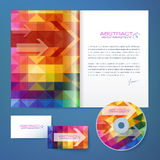Abstract geometry pattern vector business style Royalty Free Stock Photo
