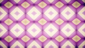Abstract Geometry pink wallpaper. Stock Photos