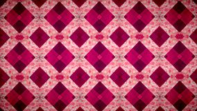 Abstract Geometry pink wallpaper. Royalty Free Stock Image