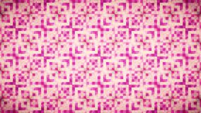Abstract Geometry pink wallpaper. Stock Photography