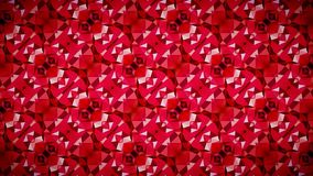 Abstract Geometry red wallpaper. Royalty Free Stock Photography