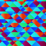 Abstract geometry shape colorful background Royalty Free Stock Photography
