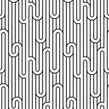 Abstract geometry stripped light seamless pattern Royalty Free Stock Image