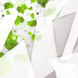 Abstract geometry technology background. Stock Photo