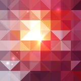 Abstract geometry triangles shining pattern Royalty Free Stock Photo