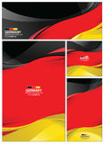 Abstract Germany Flag Background. Germany flag abstract colors background. Collection banner design. brochure vector illustration royalty free illustration