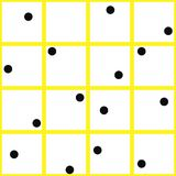 Abstract geruit geometrisch naadloos patroon Royalty-vrije Stock Foto