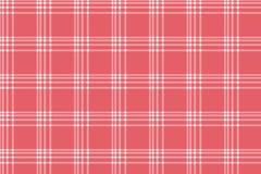 Abstract gestreept en plaidpatroon met rode kleur Royalty-vrije Stock Fotografie