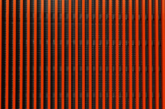 Abstract gestreept oranje patroon Stock Fotografie