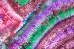Abstract gestreept patroon op zijdebatik Stock Afbeeldingen