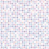 Abstract gestreept vierkant patroon met purpere, blauwe, roze pastelkleur c Royalty-vrije Stock Foto