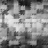 Abstract Geweven Grey Triangle Pattern Stock Fotografie