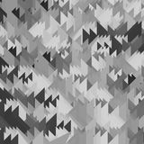 Abstract Geweven Grey Triangle Pattern stock illustratie