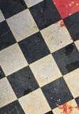 Abstract geweven schaakbord Stock Foto's