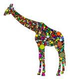 Abstract Giraffe Royalty Free Stock Image