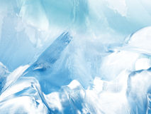 Abstract glacier background Stock Photo