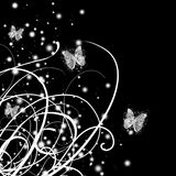 Abstract glamour butterfly Royalty Free Stock Photos