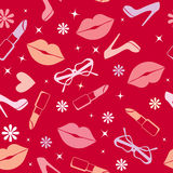 Abstract glamour seamless background Stock Photos