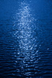Abstract glare river. AN abstract glare river in a night time Stock Images
