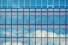 Abstract glass. Abstracts glass windows composition Stock Images