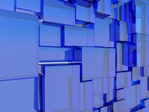 Abstract glass architecture Royalty Free Stock Images