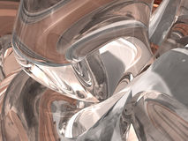 Abstract glass background Royalty Free Stock Photography