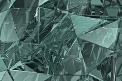Abstract glass background. 3D render. Polygonal surface. Abstract glass background. Polygonal surface. 3d render. 3d visualisation Royalty Free Stock Photography