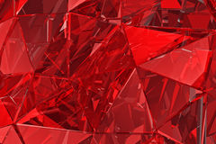 Abstract glass background. 3D render. Polygonal surface. Abstract glass background. Polygonal surface. 3d render. 3d visualisation Stock Images