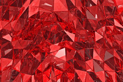 Abstract glass background. 3D render. Polygonal surface. Abstract glass background. Polygonal surface. 3d render. 3d visualisation Stock Photo