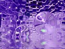 Abstract glass ball Stock Photos