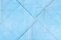 Abstract glass blue background Stock Photos