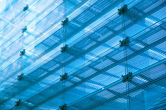 Abstract glass building Royalty Free Stock Photo