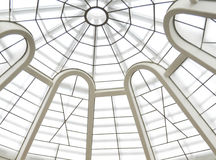 Abstract glass ceiling Stock Image
